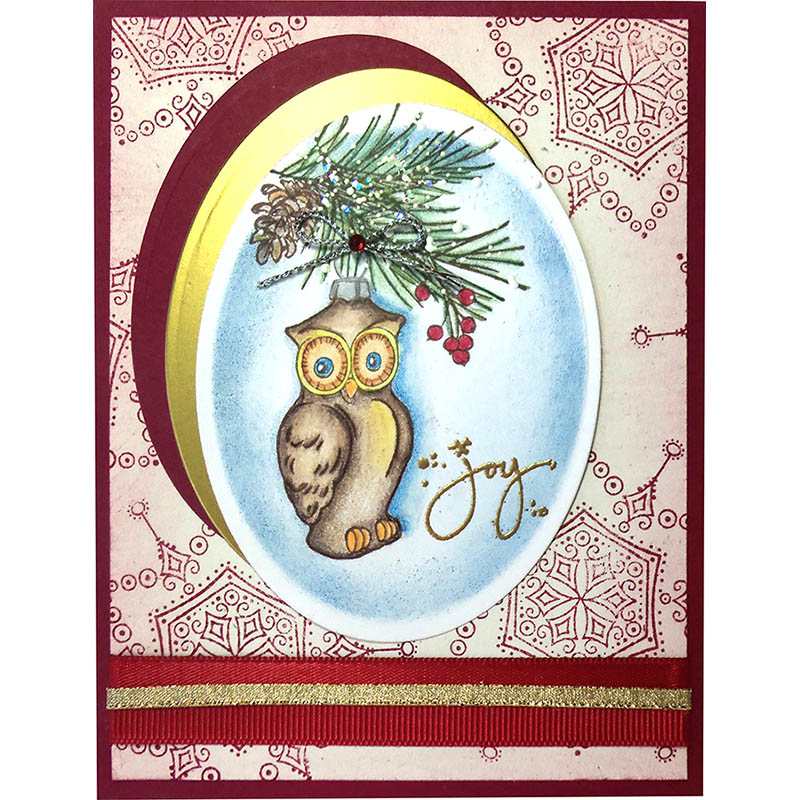 Owl Ornament by Jamie Martin