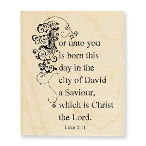 Unto You Stamp