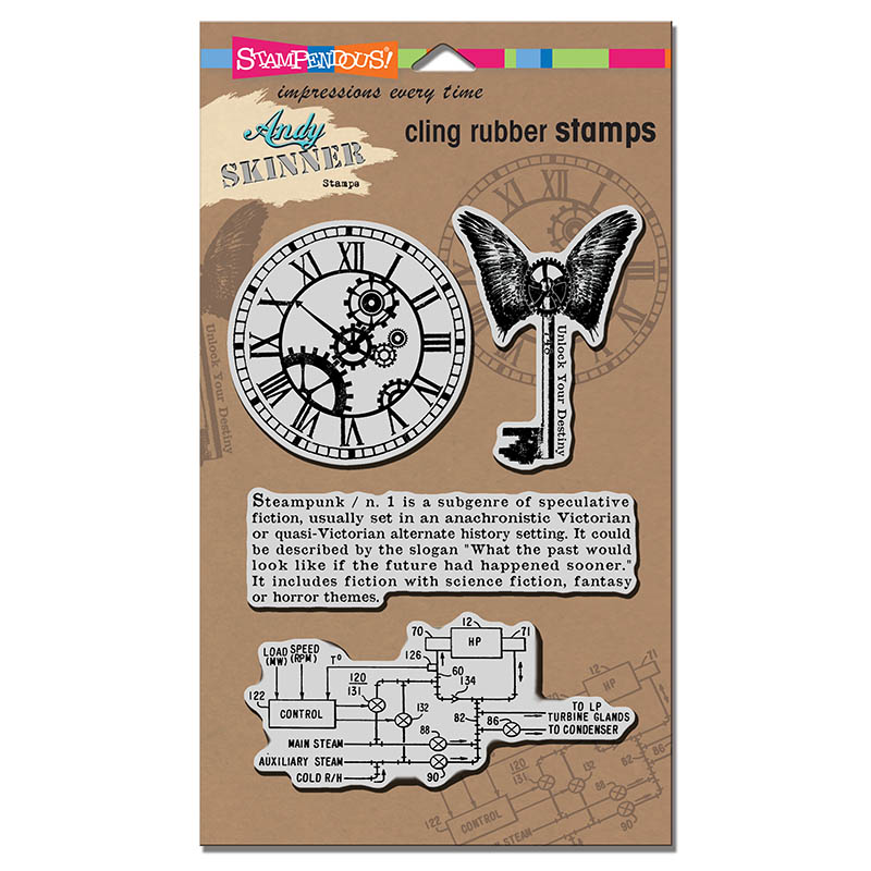 Steampunk by Andy Skinner for Stampendous