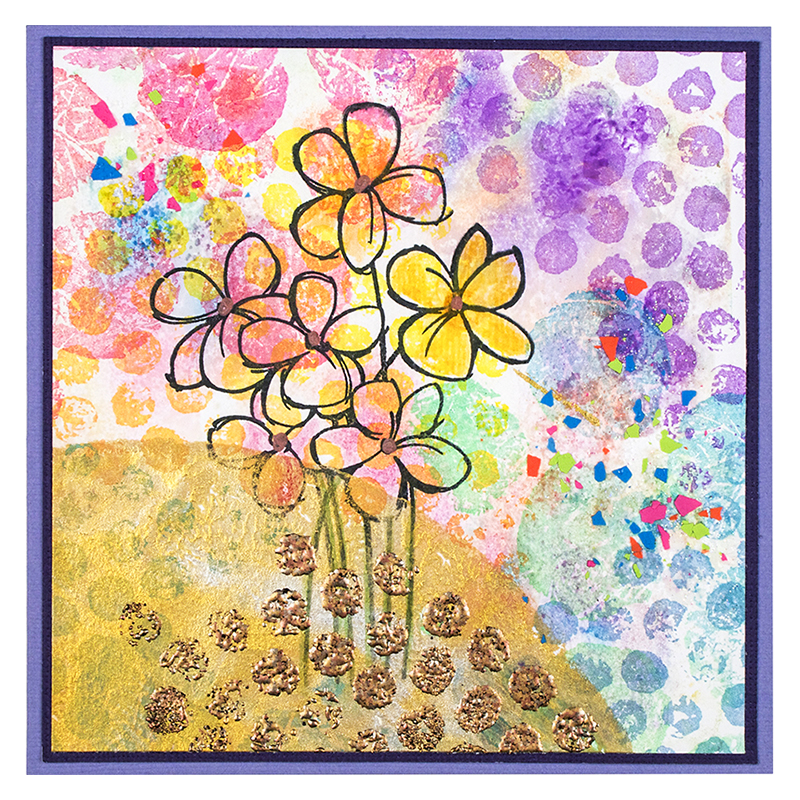 Creative Palette Rounds and Blossom Bunch by Fran Seiford