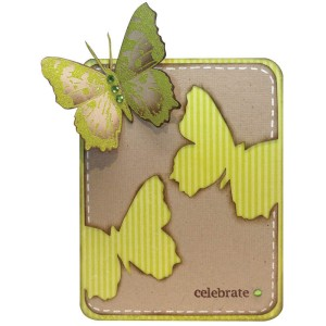 Butterfly Trio and Cutting Dies by Jennifer Dove