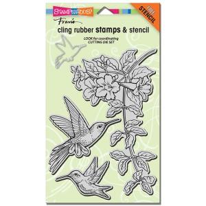 Cling Hummingbirds Stamp Set