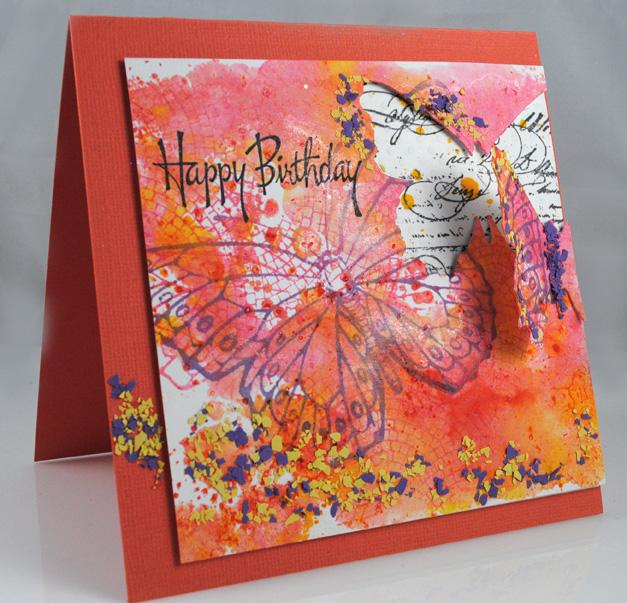 Butterfly Birthday by Pam Hornschu