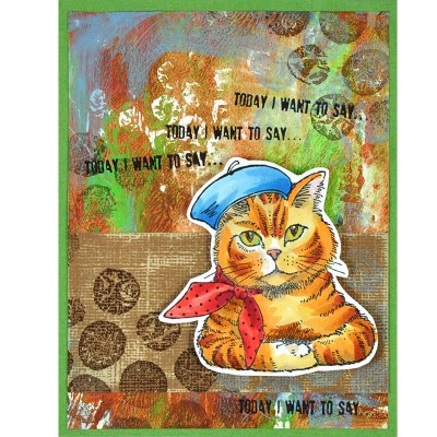 Bonjour Kitty by Janelle Stollfus