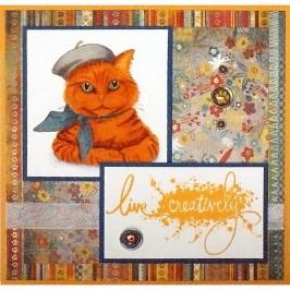 Bonjour Kitty by Lea Kimmel