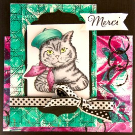 Bonjour Kitty by Cyndi Bundy