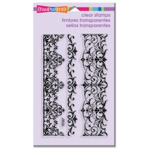 Elegant Borders Stamp Set