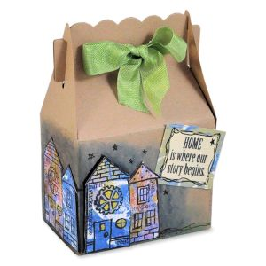 Family Home Favor Box by Janelle Stollfus