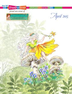 April 2015 Stampendous Catalog