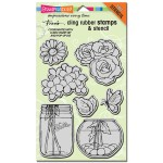 Clling Build A Bouquet Stamp Set