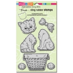 Cling Pop Up Kitties Stamp Set