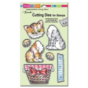 DCS5075 Pop Up Kitties Die Set