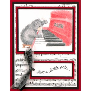 Piano Player by Debi Hammons