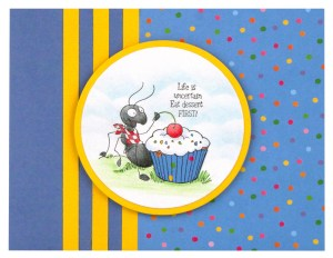 Cupcake Ant by Debi Hammons
