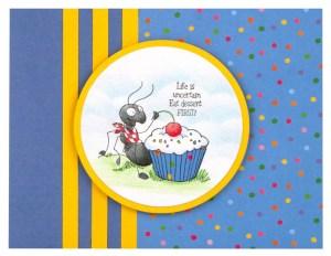 Cupcake Ant by Debi Hammons