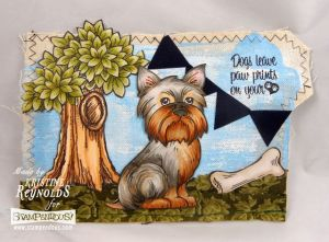 Pop Up Puppies Canvas by Kristine Reynolds