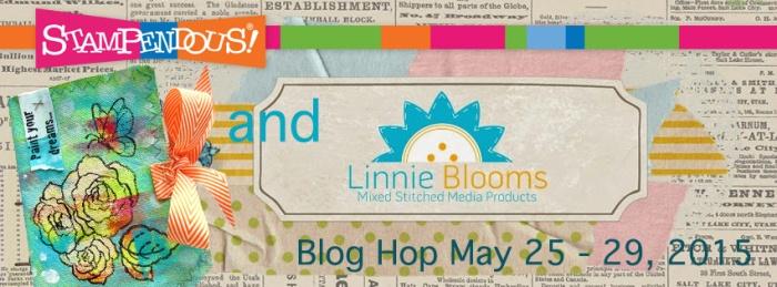 linnie blooms Blog hop banner