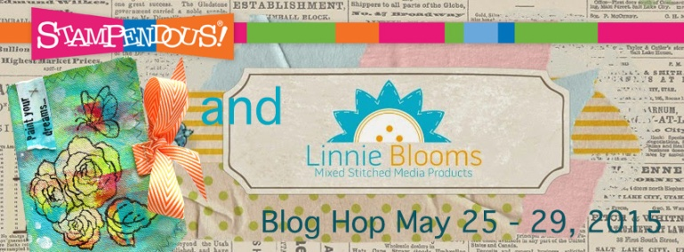 linnie blooms Blog hop banner