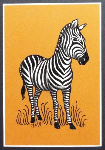 PenPattern Zebra by The Stencil Specialists