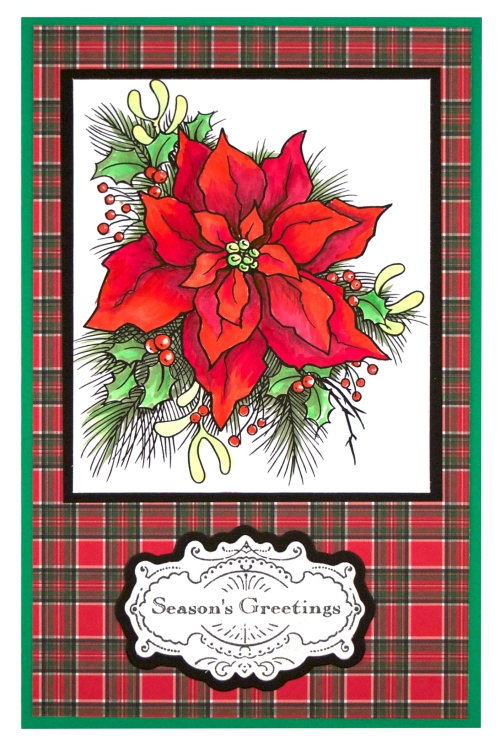 Create A Poinsettia by Fran Seiford