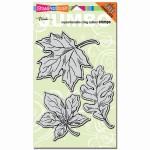 Jumbo Cling Rubber Leaves