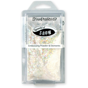 EJS02 Spoonful of Snow Embossing Powder and Elements Kit