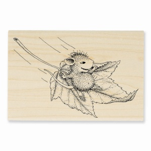 HMP01 Fall Flight Rubber Stamp
