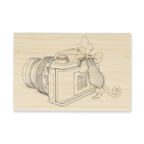 HMP31 Say Cheese Rubber Stamp
