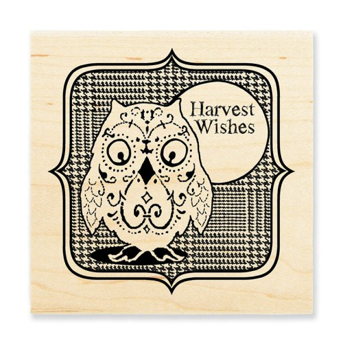 W156 Harvest Owl Stamp