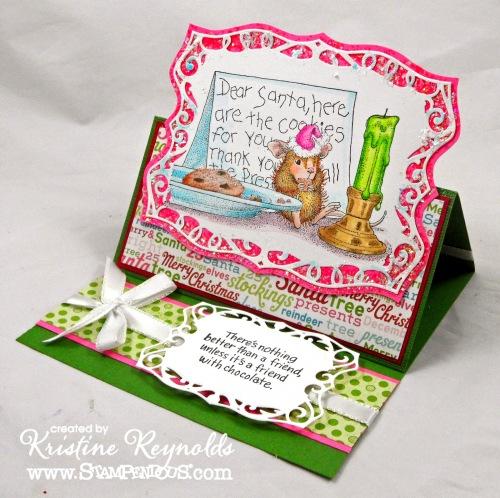 Santa Cookies by Kristine Reynolds