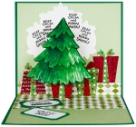 Create Christmas Keep Calm Pop Up card by Fran Seiford