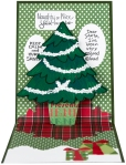 Create Christmas Pop Up Card by Fran Seiford