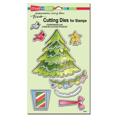DCS5080 Cling Create Christmas Stamps Set