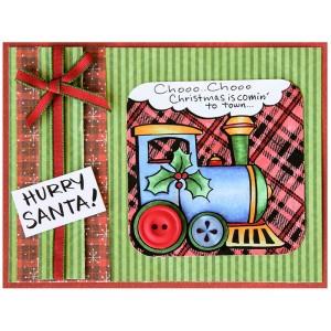 Christmas Train by Jennie Lin Black