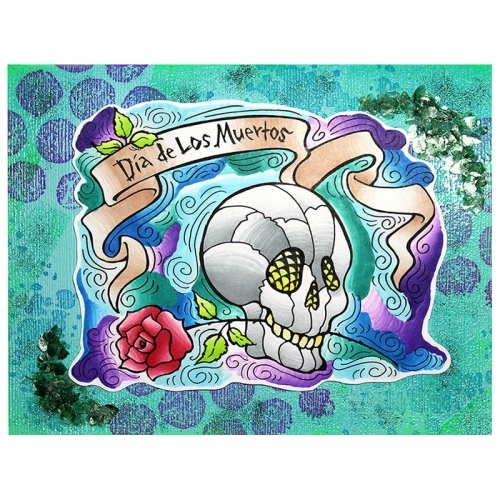 PenPattern Skull by Alison Heikkila