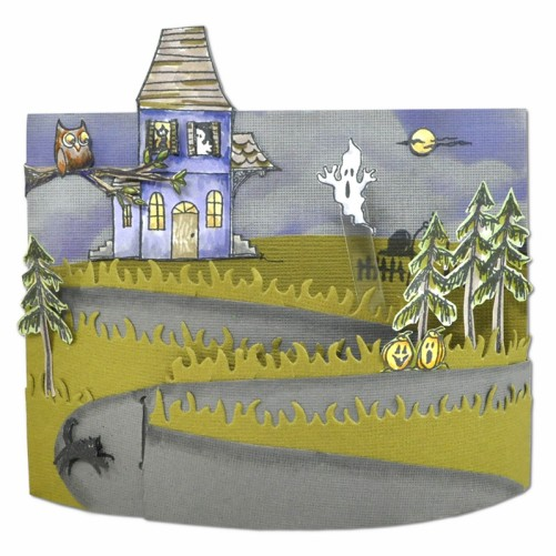 Spooky House by Janelle Stollfus