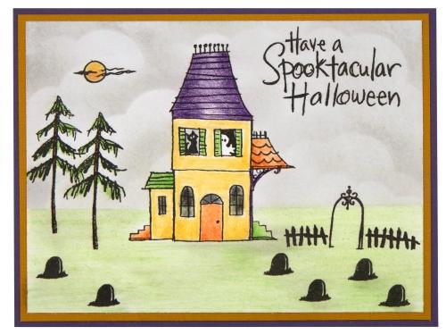 Spooky House by Debi Hammons