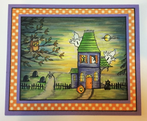 Spooky House by Louise Healy