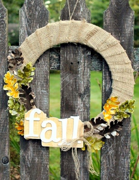 Fall Wreath by Wendy Price