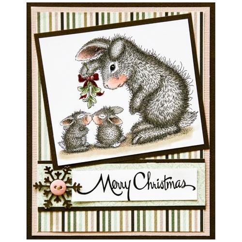 Mistletoe Bunnies by Jennie Lin Black