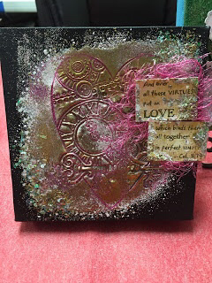 Time For Love Canvas by Ellie Gamboa