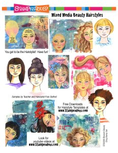 Mixed Media Beauty Hairstyles