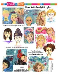 Mixed Media Beauty Hairstyles