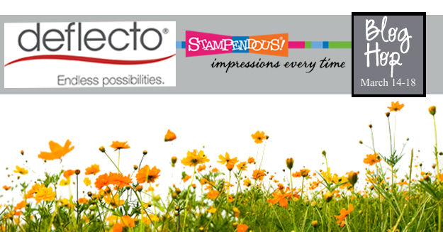 Deflecto Stampendous Blog Hop Logo
