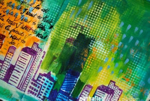 Stencil from Urban Scribbles (project by  Nathalie Kalbach}