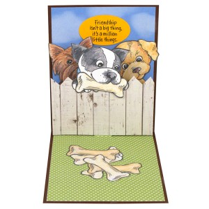 Pop Up Puppies Friendship by Debi Hammons