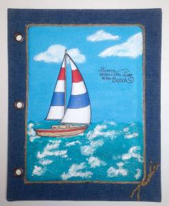 Sailboats Journal by Lea Fritts