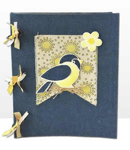 Bird Duo Journal by Louise Healy