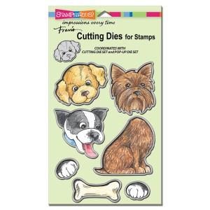 DCS5076 Pop Up Puppies Die Cut Set