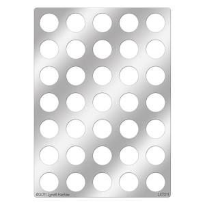 DWLX7011 Big Dots Stencil